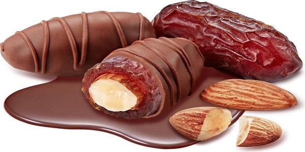 خرید عمده بهترین شکلات خرمایی