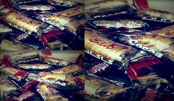 تولید شکلات کانفت