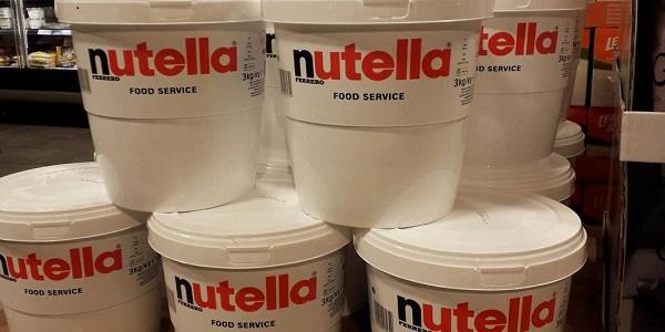 فروش عمده نوتلا فله سطلی 3 کیلویی
