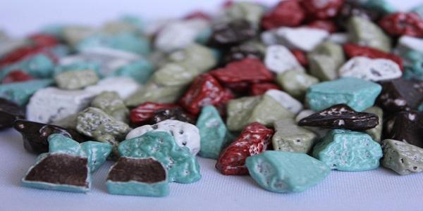 صادرات مستقیم شکلات سنگی از کارخانه