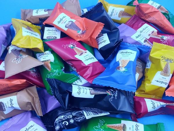 صادرات شکلات قیفی به کشورهای عربی
